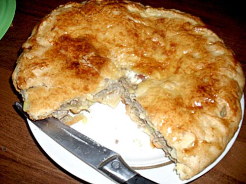 Морозовские рецепты, мясной пирог, кубетэ, про Морозовск