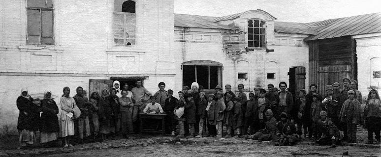 Голод в Морозовске 1921 год