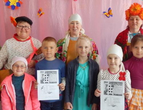 Дети из хутора Парамонов приняли участие в весеннем праздник